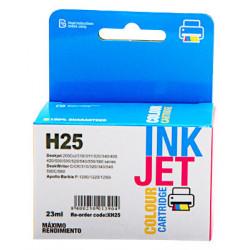 Cartucho de tinta : XH25C de la marca : Hp disponible en : RECOLOGIC