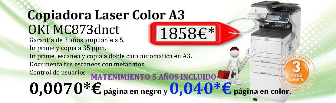 OKI MC873dnct oferta